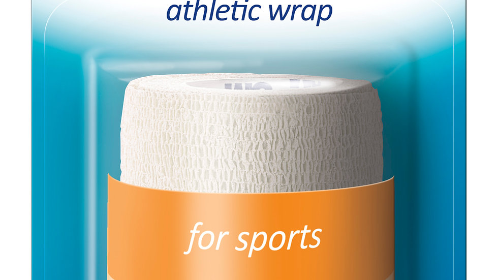 Nexcare™ Athletic Wrap CR-3W, 3 in x 80 in (76,2 mm x 2,03 m), Unstretched