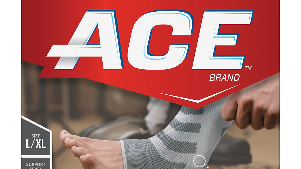 ACE™ Brand Compression Ankle Support, 207326, Large / Extra Large
