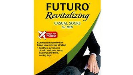 FUTURO™ Casual Socks, 71021EN, Large, Black
