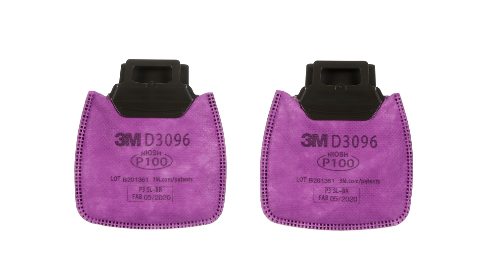 3M™ Secure Click™ Particulate Filter P100 with