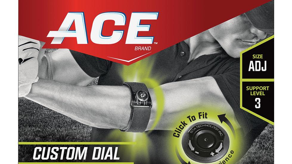 ACE™ Custom Fit Elbow Strap, 904011, Adjustable