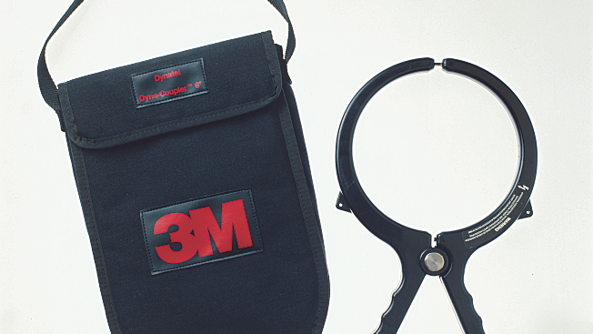 """3M™ 6"""" Dyna-Coupler with Pouch and 9011 Coupler Cable, 1196/C"""
