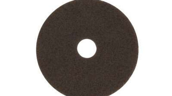 3M™ Brown Stripper Pad 7100, 19 in, 5/Case