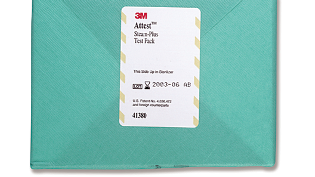 3M™ Attest™ Steam-Plus Test Pack 41380 for Steam Sterilization
