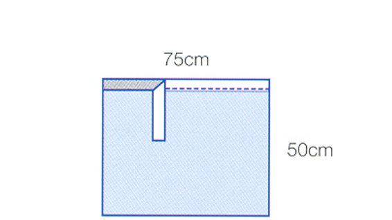 3M™ Steri-Drape™ Absorbent Pad 9095, 28 IN x 20 IN, 50/CTN 4 CTN/CS