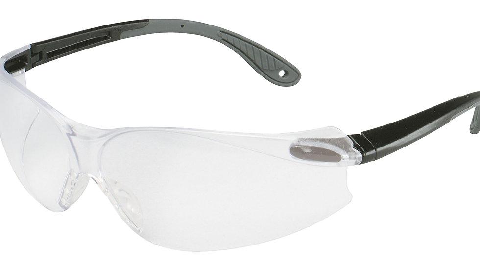 3M™ Virtua V4 Protective Eyewear 11670-00000-20 Clear HC Lens Black/Gray Temple