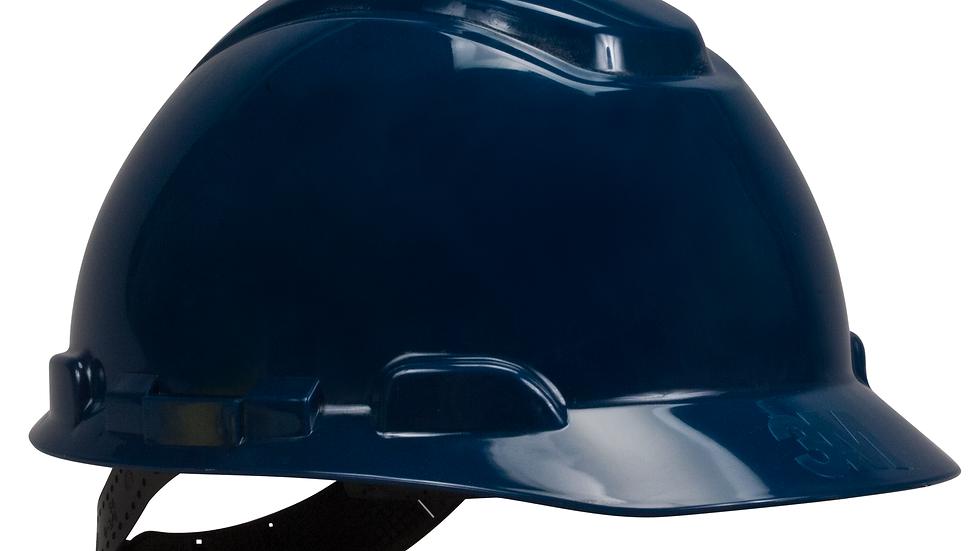 3M™ Hard Hat H-710P, Navy Blue, 4-Point Pinlock Suspension, 20 EA/Case