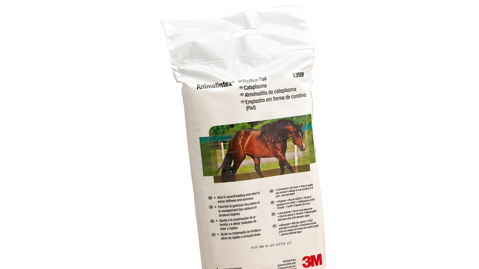 """Animalintex® Poultice Pad, Marketed by 3M, 1395P, 8"""" x 16"""" Pad"""