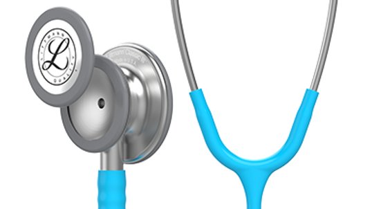 3M™ Littmann® Classic III™ Monitoring Stethoscope Turquoise Tube 27, inch, 5835