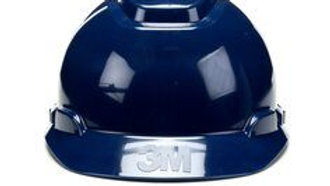 3M™ Hard Hat H-710R-UV, Navy Blue , 4-Point Ratchet Suspension with Uvicator