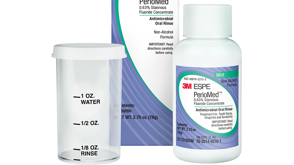 3M™ PerioMed™ 0.63% Stannous Fluoride Oral Rinse, 12105SM