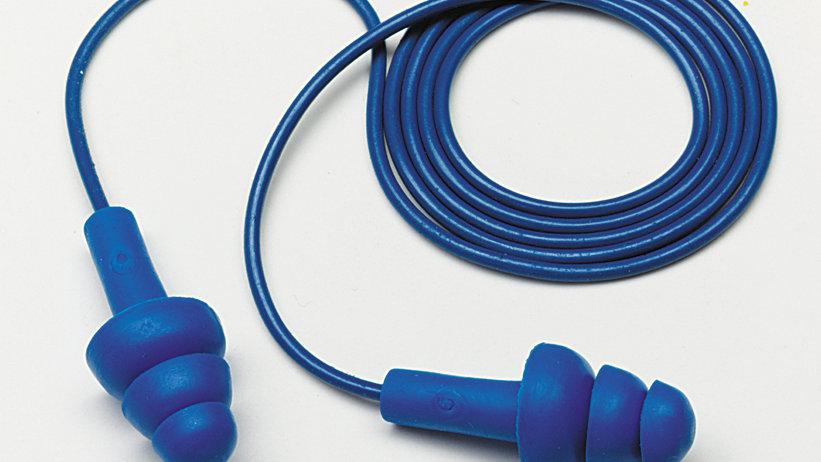 3M™ E-A-R™ UltraFit™ Earplugs 340-4017, Metal Detectable, Corded