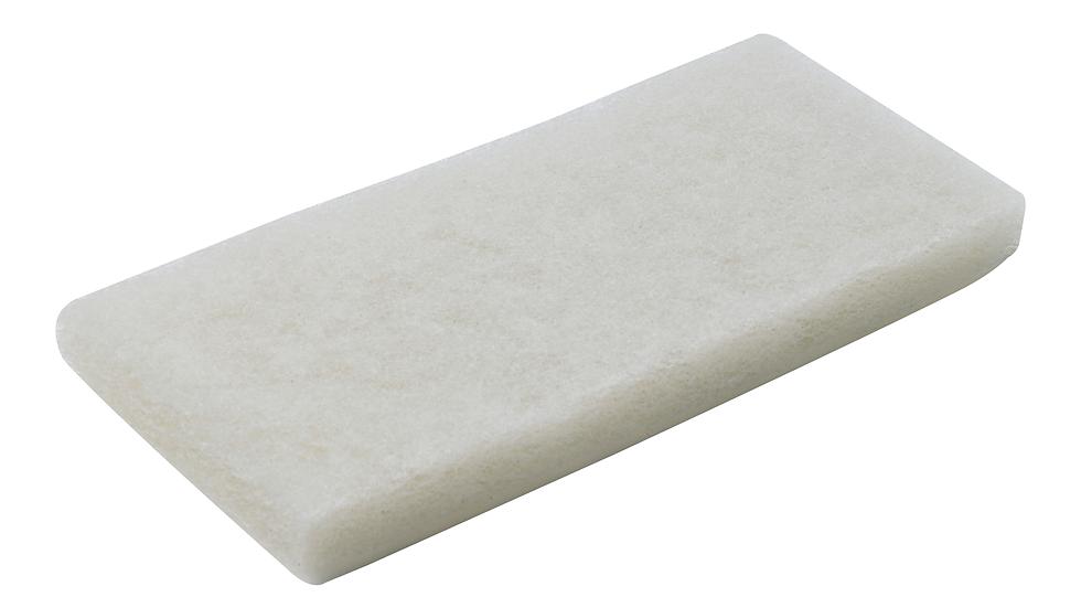3M™ Doodlebug™ Utility Pad, 8440, 4-5/8 in x 10 in, White, 5/Box, 4, Boxes/Case