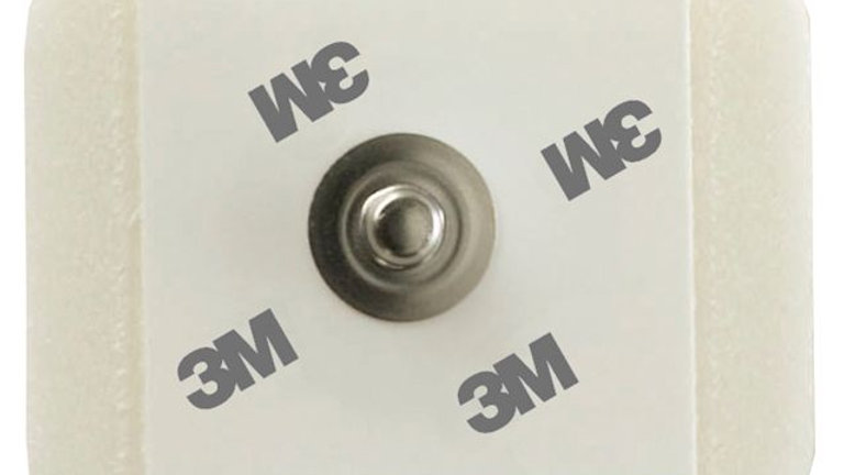 3M™ ECG Monitoring Electrodes, Foam, Diaphoretic, 2228