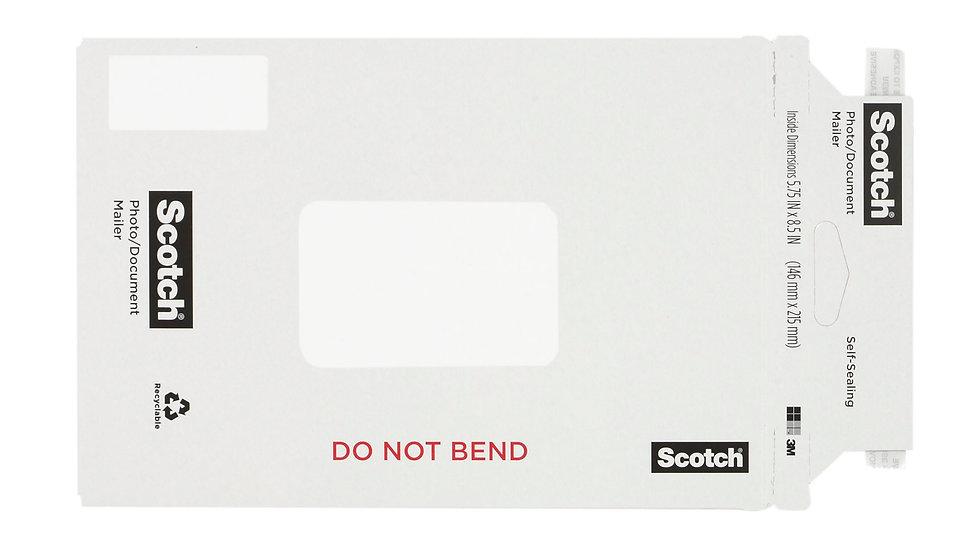 Scotch™ Photo/Document Mailer 7916-1, 5.75 in x 8.5 in