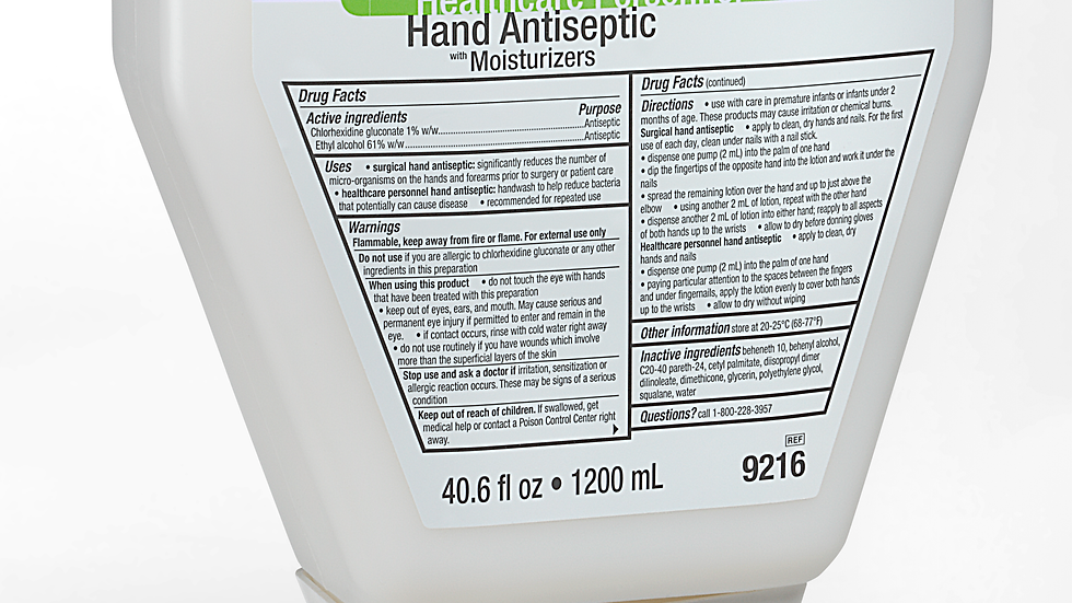 3M™ Avagard Surgical and Healthcare Personnel Hand Antiseptic with Moisturizers