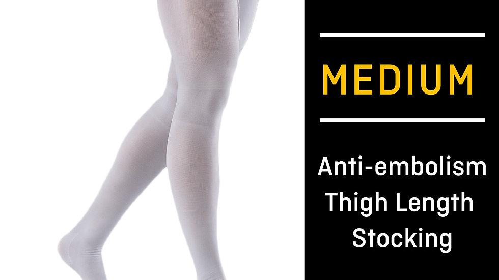 FUTURO™ Anti-Embolism Stockings 71065EN, Thigh Length, Closed Toe