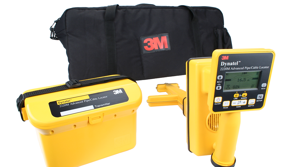 3M™ Dynatel™ Pipe/Cable Locator 2220M-U3W3-CPLR