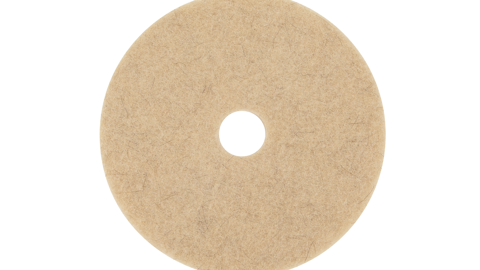 3M™ Natural Blend Tan Pad 3500, 21 in, 5/Case