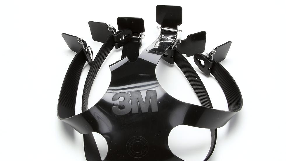 3M™ Head Strap/Harness Assembly 7893S, Silicone, 2 EA/Case
