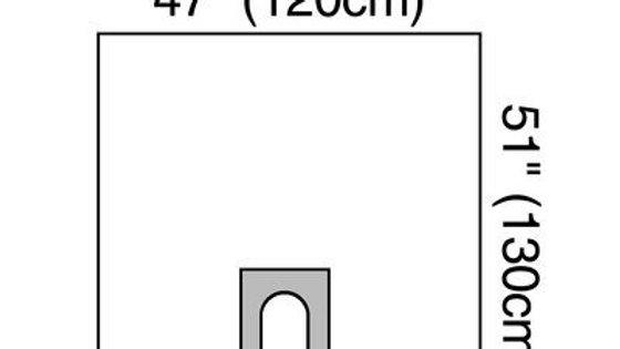3M™ Steri-Drape™ U-drape 1015NSD, 100/Case