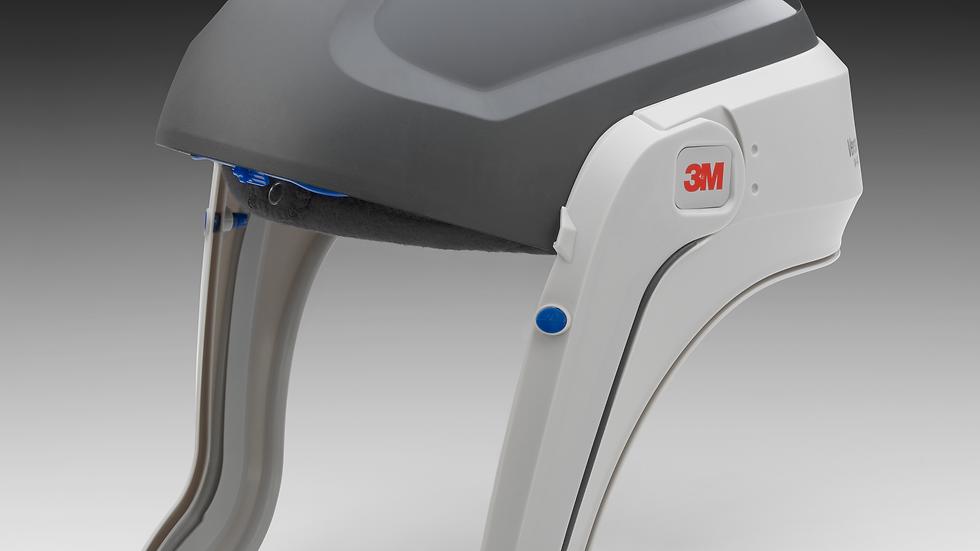 3M™ Versaflo™ Respiratory Helmet M-401, No Visor and Shroud, 1 EA/Case
