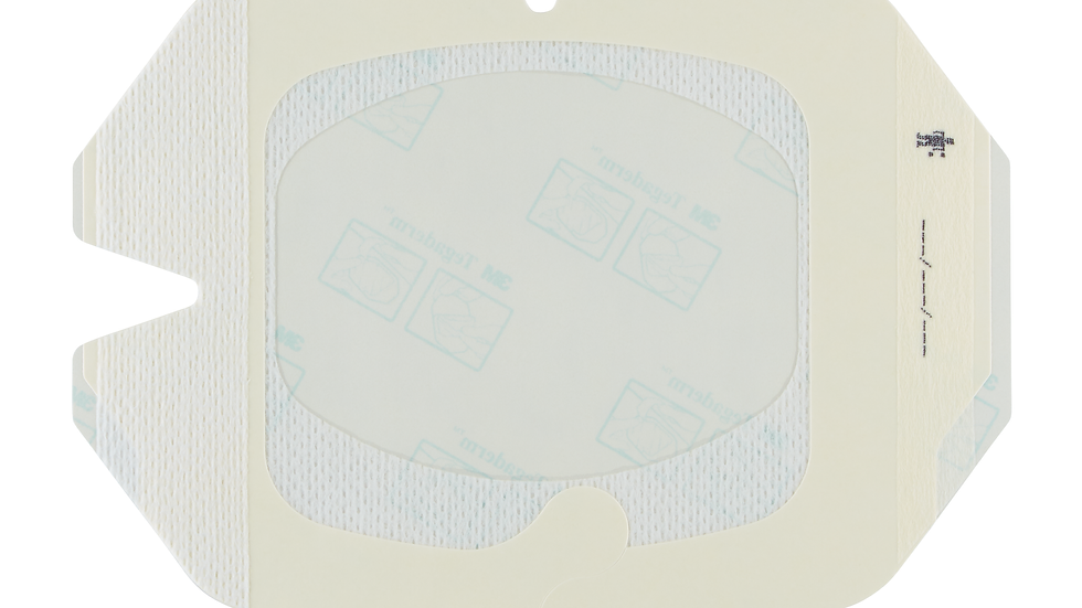3M™ Tegaderm™ Transparent Film Dressing Frame Style with Border 1616