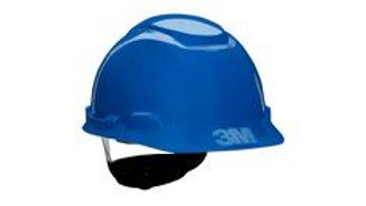 3M™ Hard Hat with Uvicator H-703V-UV, Vented Blue 4-Point Ratchet