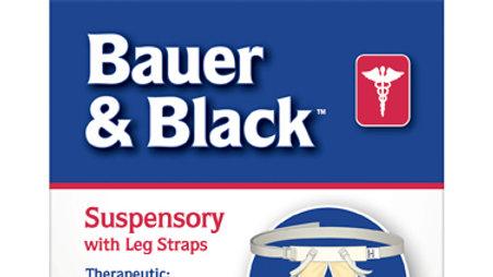 Bauer & Black™ 0-2 Suspensory W/Leg Strap 201255, Large