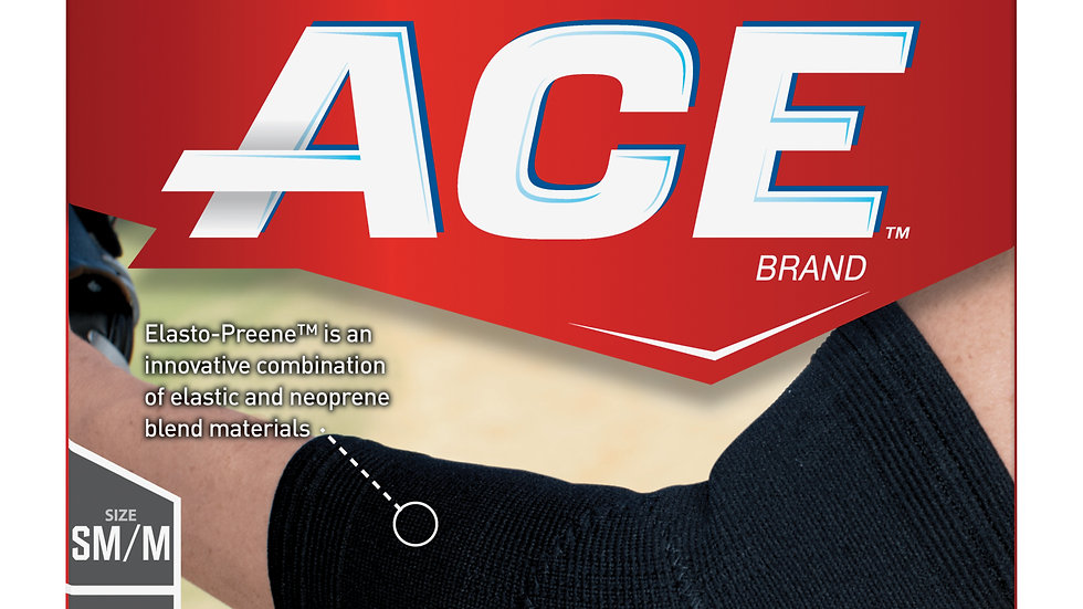 ACE™ Compression Elbow Support, 207523, Small / Medium