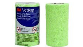 3M™ VetRap™ Bandaging Tape 1410LG-LFHT, 4 in x 5 yd (100 mm x 4,5 m)