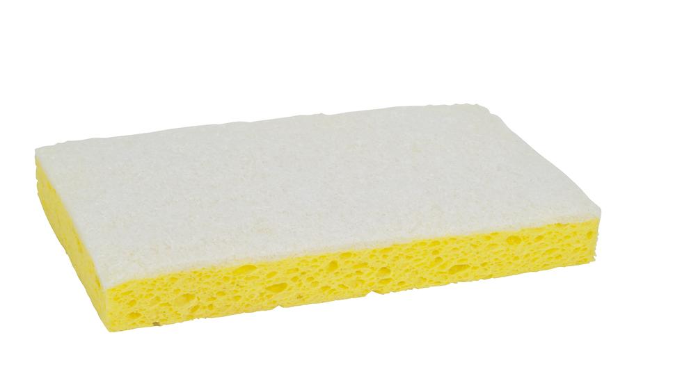 Scotch-Brite™ Light Duty Scrub Sponge 63, 6.1 in x 3.6 in x 0.7 in, 20/Case