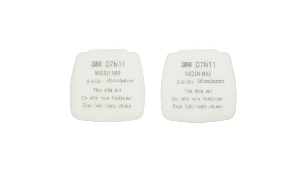 3M™ Secure Click™ Particulate Filter N95 D7N11, 200 EA/Case