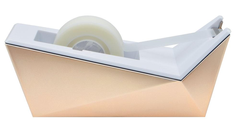 "Scotch® Desktop Tape Dispenser, C17-CP, Facet Design, Copper, 3/4"" x 350"""