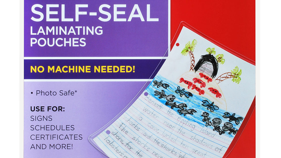 Scotch™ Self-Sealing Laminating Pouches LS854-5G