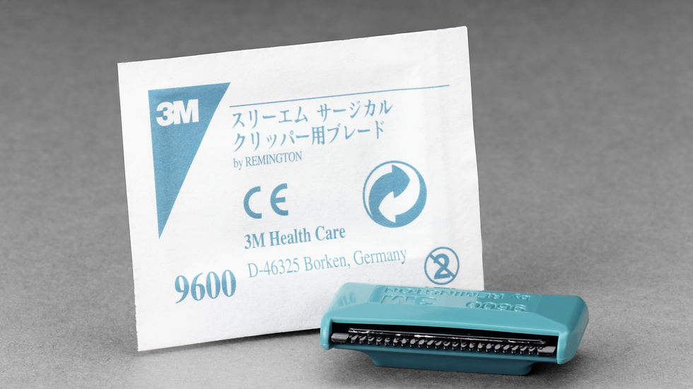 3M™ Surgical Clipper Single-Use Blade Assembly 9600