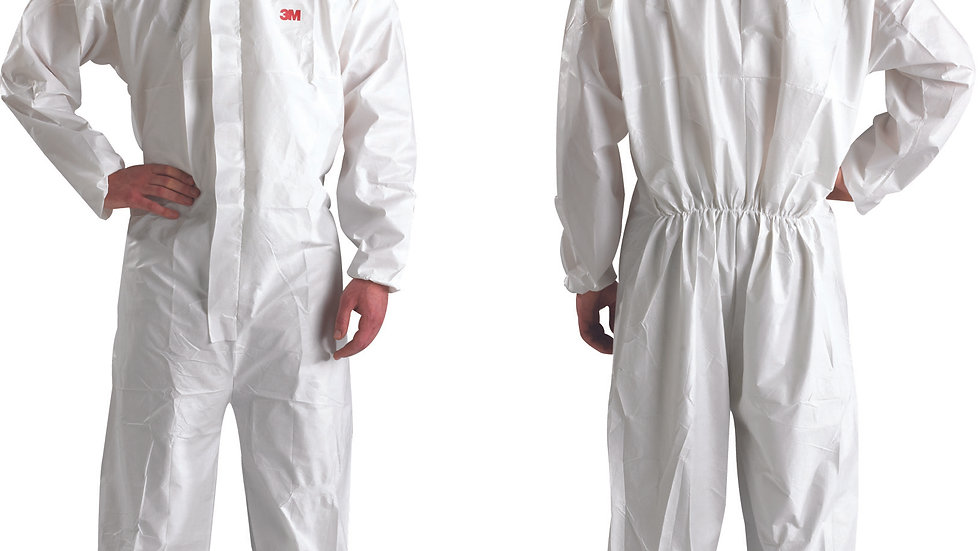 3M™ Disposable Protective Coverall 4510, 4XL, White, Type 5/6, 20