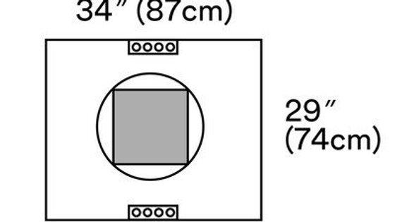 3M™ Steri-Drape™ 2 Incise Pouch 2057