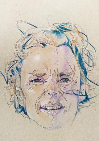 Marie-Gabrielle Jean, dessinée par Lionel Saliou
