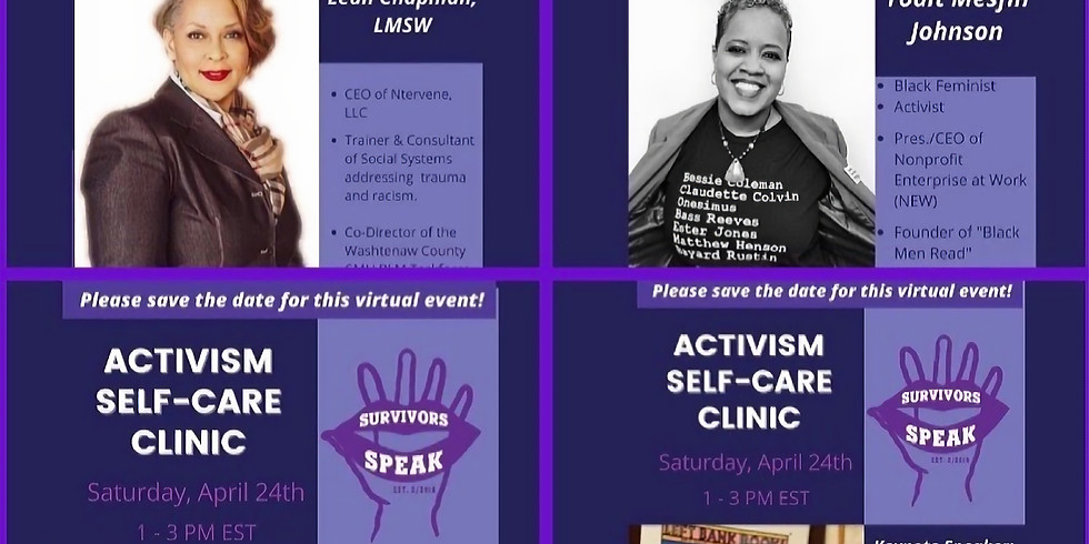 Activism Self-Care Clinic