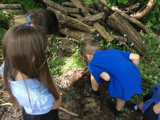 Team 2's Outdoor Classroom Day!