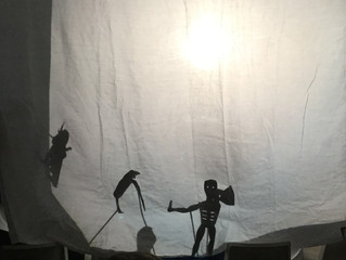 Shadow Puppet Day!