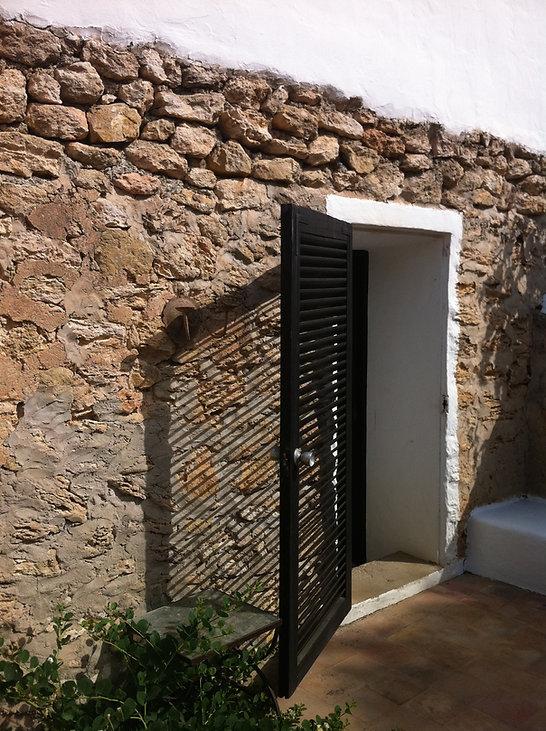 Herrajes para puertas y ventanas, manivelas de hierro forja