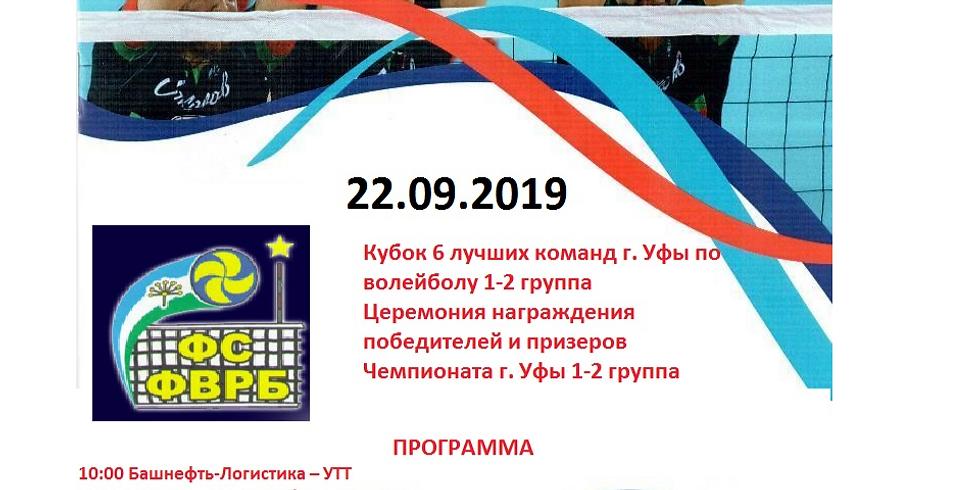 Кубок г. Уфа по волейболу 2019 г.
