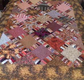 Autumn Scrappy quilt