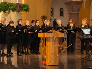Gastoptreden Canto di Donne bij kerstfestival Popkoor Trente