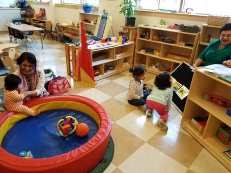 Infant-Parents Classes Creating a beautiful bond