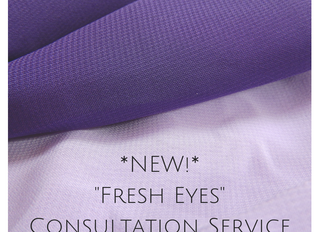 "Introducing...""Fresh Eyes""!"