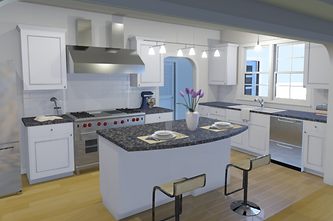 Class 4 - Updated Kitchen with Backsplas