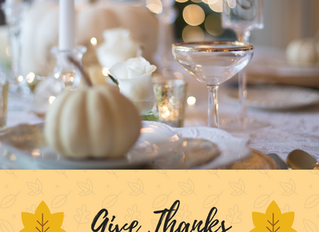 Three Quick Tips for a Stunning, Stress-Free Thanksgiving Table